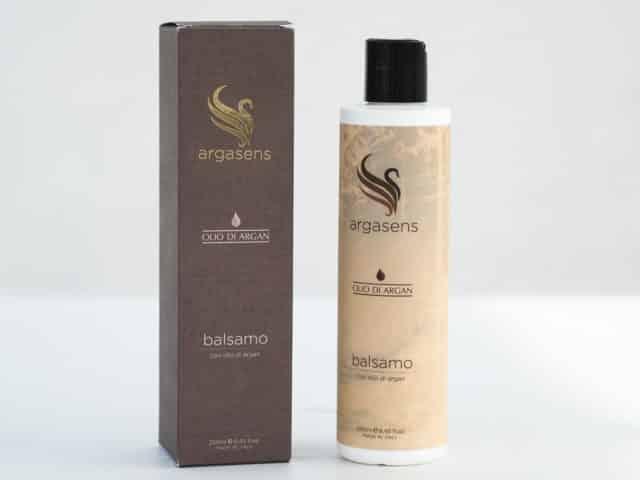 Balsamo con olio di argan
