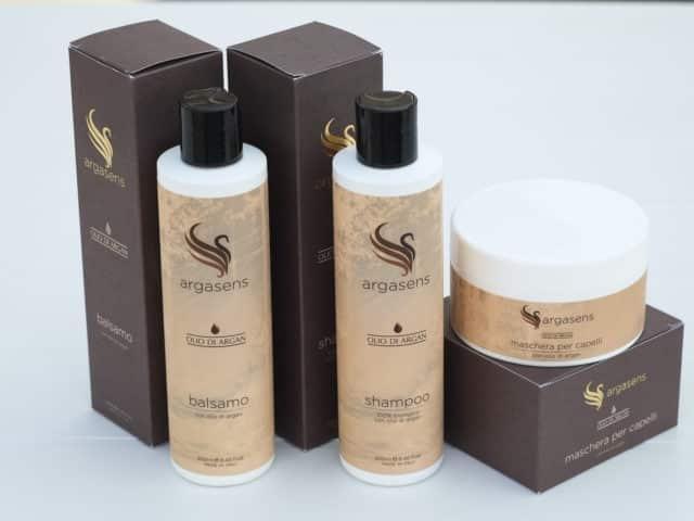 Kit capelli olio di argan