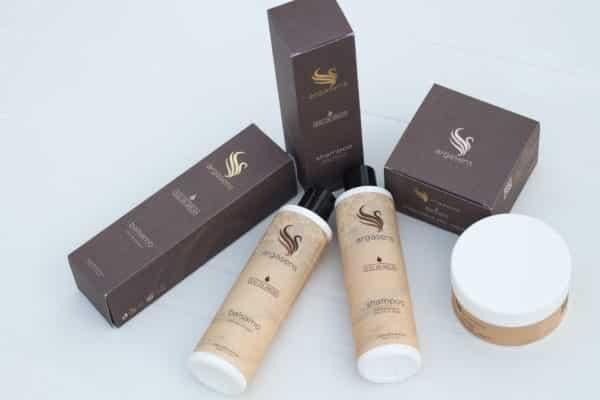 Kit capelli Argasens: shampoo, balsamo e maschera