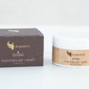 Maschera per capelli con olio di argan