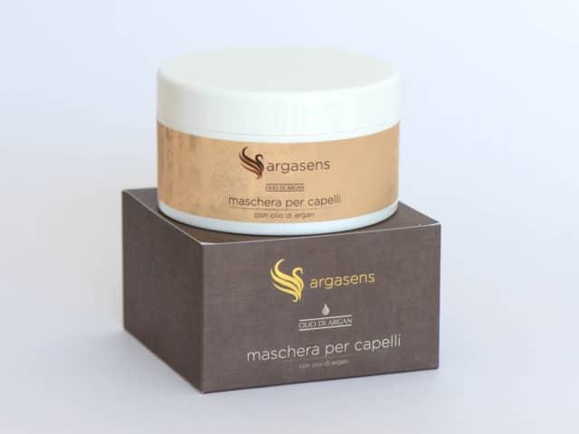 Maschera capelli con olio di argan