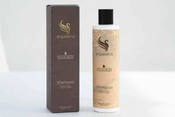 Shampoo biologico con olio di argan